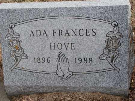 HOVE, ADA FRANCES - Moody County, South Dakota | ADA FRANCES HOVE - South Dakota Gravestone Photos