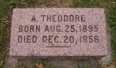 HOVE, A THEODORE - Moody County, South Dakota   A THEODORE HOVE - South Dakota Gravestone Photos