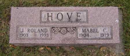 HOVE, MABEL C - Moody County, South Dakota | MABEL C HOVE - South Dakota Gravestone Photos