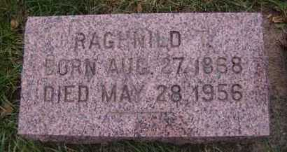 HAUGEBERG HOVE, RAGHNILD - Moody County, South Dakota | RAGHNILD HAUGEBERG HOVE - South Dakota Gravestone Photos