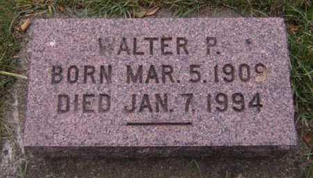 HOVE, WALTER P - Moody County, South Dakota | WALTER P HOVE - South Dakota Gravestone Photos