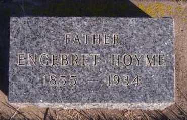 HOYME, ENGEBRET - Moody County, South Dakota | ENGEBRET HOYME - South Dakota Gravestone Photos