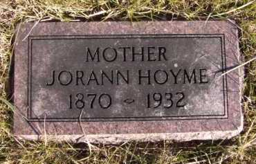HOYME, JORANN - Moody County, South Dakota | JORANN HOYME - South Dakota Gravestone Photos