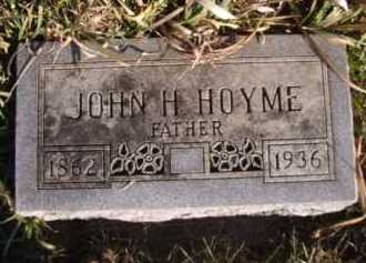 HOYME, JOHN H - Moody County, South Dakota | JOHN H HOYME - South Dakota Gravestone Photos