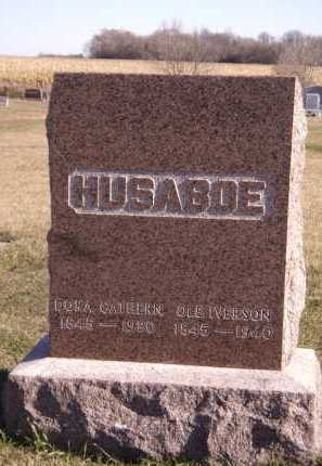 HUSABOE, FAMILY - Moody County, South Dakota | FAMILY HUSABOE - South Dakota Gravestone Photos