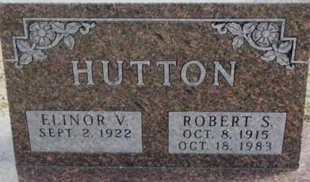HUTTON, ROBERT S. - Moody County, South Dakota | ROBERT S. HUTTON - South Dakota Gravestone Photos