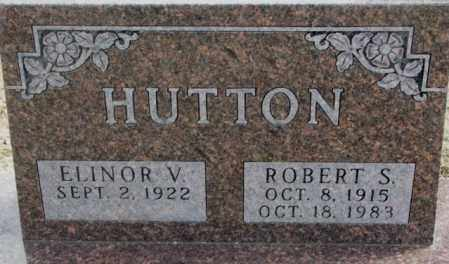 HUTTON, ELINOR V. - Moody County, South Dakota | ELINOR V. HUTTON - South Dakota Gravestone Photos