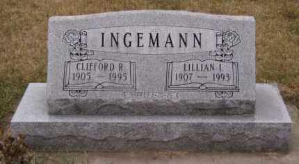 BENSON INGEMANN, LILLIAN I - Moody County, South Dakota | LILLIAN I BENSON INGEMANN - South Dakota Gravestone Photos
