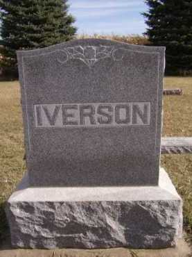 IVERSON, FAMILY - Moody County, South Dakota | FAMILY IVERSON - South Dakota Gravestone Photos