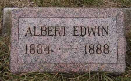 JACOBSON, ALBERT EDWIN - Moody County, South Dakota | ALBERT EDWIN JACOBSON - South Dakota Gravestone Photos