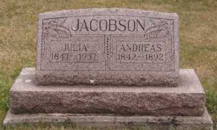 JACOBSON, JULIA - Moody County, South Dakota | JULIA JACOBSON - South Dakota Gravestone Photos