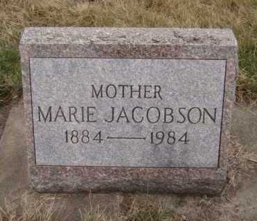 JACOBSON, MARIE - Moody County, South Dakota | MARIE JACOBSON - South Dakota Gravestone Photos