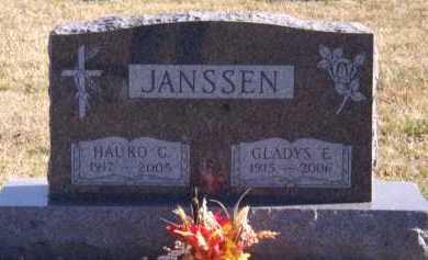 JANSSEN, HAUKO C - Moody County, South Dakota | HAUKO C JANSSEN - South Dakota Gravestone Photos