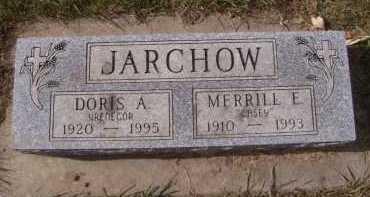 JARCHOW, DORIS A - Moody County, South Dakota | DORIS A JARCHOW - South Dakota Gravestone Photos