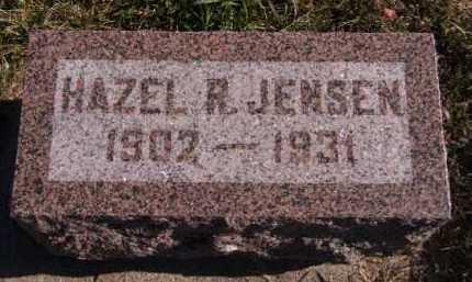 JENSEN, HAZEL R - Moody County, South Dakota | HAZEL R JENSEN - South Dakota Gravestone Photos