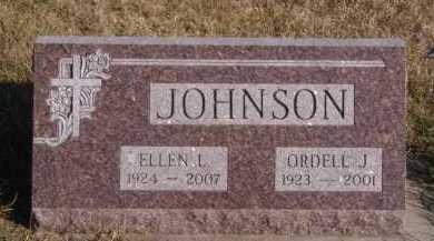 JOHNSON, ORDELL J - Moody County, South Dakota | ORDELL J JOHNSON - South Dakota Gravestone Photos