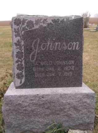 JOHNSON, GUNHILD - Moody County, South Dakota | GUNHILD JOHNSON - South Dakota Gravestone Photos