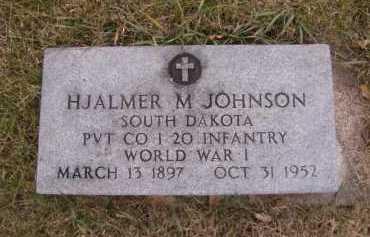 JOHNSON, HJALMER M - Moody County, South Dakota | HJALMER M JOHNSON - South Dakota Gravestone Photos