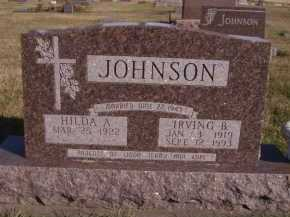JOHNSON, HILDA A - Moody County, South Dakota | HILDA A JOHNSON - South Dakota Gravestone Photos