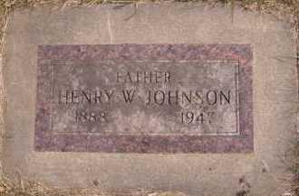 JOHNSON, HENRY W - Moody County, South Dakota | HENRY W JOHNSON - South Dakota Gravestone Photos