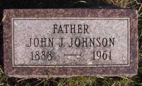 JOHNSON, JOHN J - Moody County, South Dakota | JOHN J JOHNSON - South Dakota Gravestone Photos