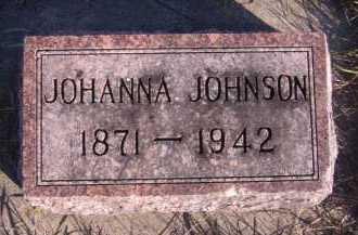 JOHNSON, JOHANNA - Moody County, South Dakota | JOHANNA JOHNSON - South Dakota Gravestone Photos