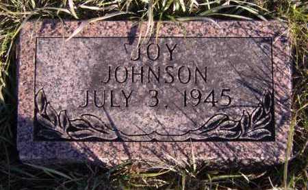 JOHNSON, JOY - Moody County, South Dakota   JOY JOHNSON - South Dakota Gravestone Photos