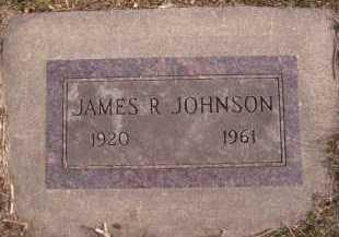JOHNSON, JAMES R - Moody County, South Dakota | JAMES R JOHNSON - South Dakota Gravestone Photos