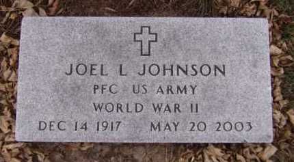 JOHNSON, JOEL L (MILITARY) - Moody County, South Dakota | JOEL L (MILITARY) JOHNSON - South Dakota Gravestone Photos