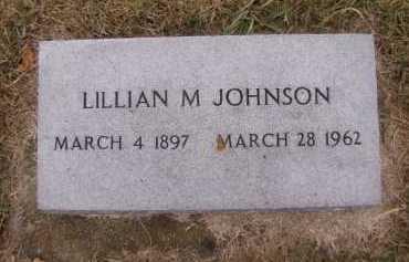 AAKER JOHNSON, LILLIAN M - Moody County, South Dakota | LILLIAN M AAKER JOHNSON - South Dakota Gravestone Photos