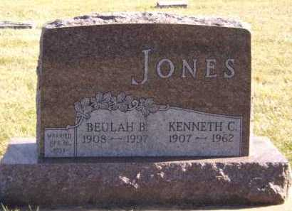 JONES, KENNETH C - Moody County, South Dakota | KENNETH C JONES - South Dakota Gravestone Photos