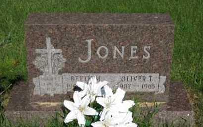 JONES, OLIVER T - Moody County, South Dakota | OLIVER T JONES - South Dakota Gravestone Photos