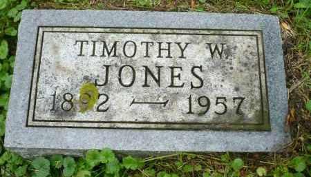 JONES, TIMOTHY W. - Moody County, South Dakota | TIMOTHY W. JONES - South Dakota Gravestone Photos