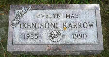 KARROW, EVELYN MAE - Moody County, South Dakota | EVELYN MAE KARROW - South Dakota Gravestone Photos