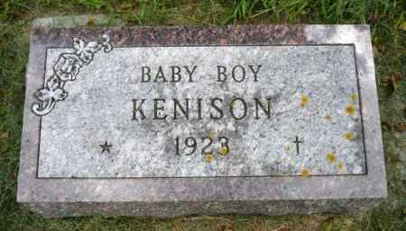 KENISON, BABY BOY - Moody County, South Dakota | BABY BOY KENISON - South Dakota Gravestone Photos