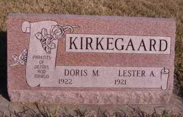 KIRKEGAARD, LESTER A - Moody County, South Dakota | LESTER A KIRKEGAARD - South Dakota Gravestone Photos