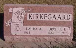 KIRKEGAARD, ORVILLE E - Moody County, South Dakota | ORVILLE E KIRKEGAARD - South Dakota Gravestone Photos