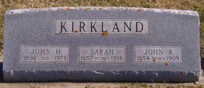 KIRKLAND, SARAH - Moody County, South Dakota | SARAH KIRKLAND - South Dakota Gravestone Photos