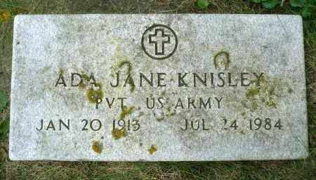 KNISLEY, ADA JANE (MILITARY) - Moody County, South Dakota | ADA JANE (MILITARY) KNISLEY - South Dakota Gravestone Photos