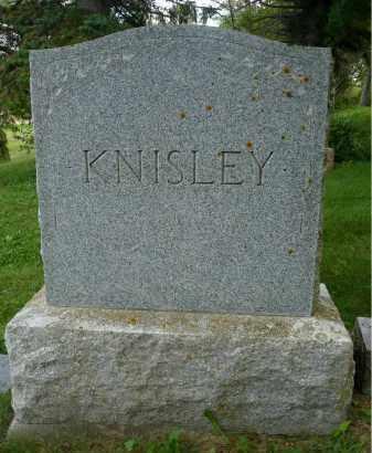 KNISLEY, FAMILY MARKER - Moody County, South Dakota | FAMILY MARKER KNISLEY - South Dakota Gravestone Photos