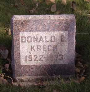 KRECH, DONALD E - Moody County, South Dakota | DONALD E KRECH - South Dakota Gravestone Photos