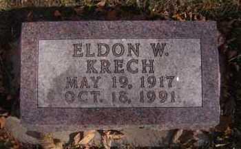 KRECH, ELDON W - Moody County, South Dakota | ELDON W KRECH - South Dakota Gravestone Photos