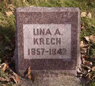 KRECH, LINA A - Moody County, South Dakota | LINA A KRECH - South Dakota Gravestone Photos