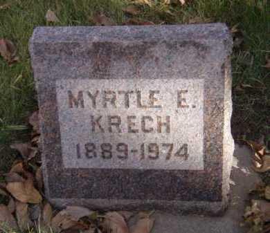 KRECH, MYRTLE E - Moody County, South Dakota | MYRTLE E KRECH - South Dakota Gravestone Photos