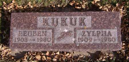 KUKUK, ZYLPHA - Moody County, South Dakota   ZYLPHA KUKUK - South Dakota Gravestone Photos