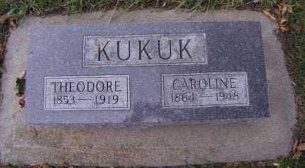 KUKUK, CAROLINE - Moody County, South Dakota | CAROLINE KUKUK - South Dakota Gravestone Photos