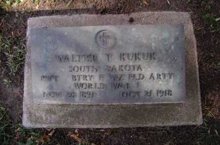 KUKUK, WALTER T - Moody County, South Dakota | WALTER T KUKUK - South Dakota Gravestone Photos