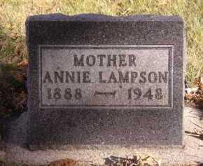 LAMPSON, ANNIE - Moody County, South Dakota | ANNIE LAMPSON - South Dakota Gravestone Photos