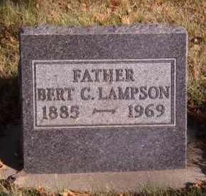 LAMPSON, BERT C - Moody County, South Dakota | BERT C LAMPSON - South Dakota Gravestone Photos