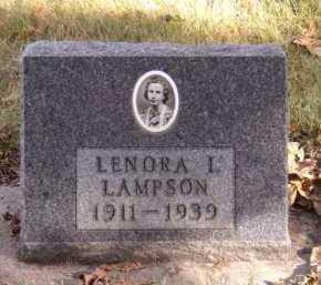 LAMPSON, LENORA I - Moody County, South Dakota | LENORA I LAMPSON - South Dakota Gravestone Photos